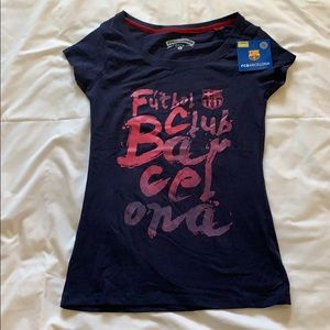 Tops - NWT FC Barcelona women's shirt